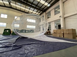 30 Cu.m Transparent Helikite Balloon